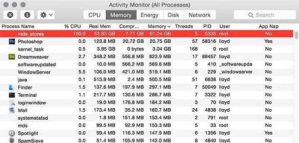How to Fix mds_stores Process Consuming High CPU Usage on Mac