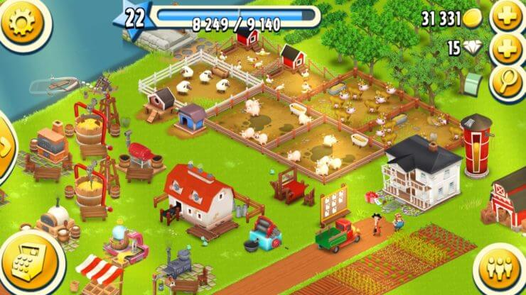 Hay Day-best Farming Game