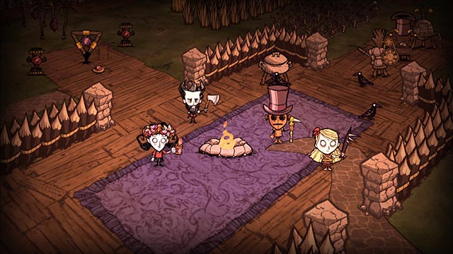 Dont Starve Together-Games like Stardew Valley