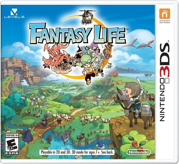 Fantasy Life-best games like stardew valley