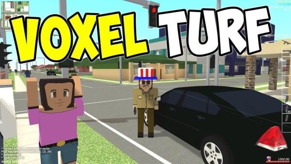 Voxel Turf-Top Games like Roblox