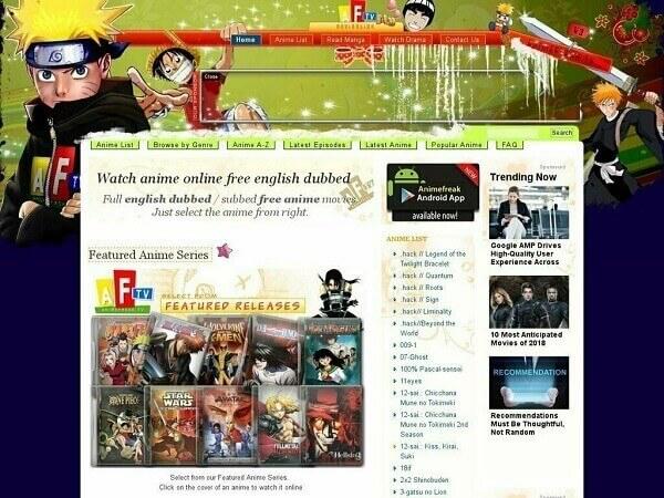 AnimeFreak-Anilinkz like sites