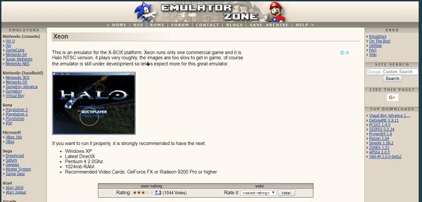 Xeon Emulator