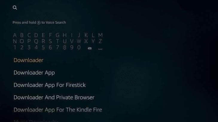 Freeview app for FireStick using Downloader App-2
