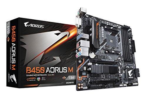 GIGABYTE B450 Aorus Pro WIFI motherboard for Ryzen 5 2600