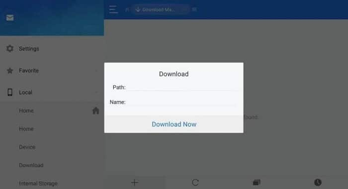 Method 2 ES File Explorer-2