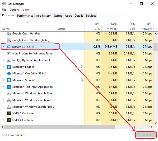 Fix Discord Wont Open Issue-Close all Discord Services and Restart It