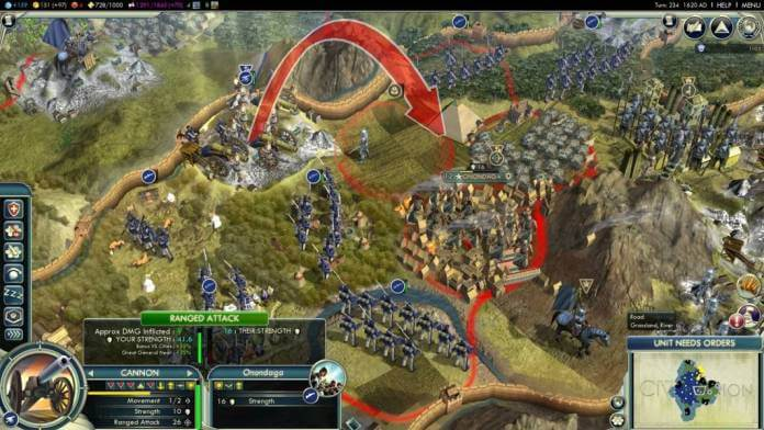 Best Turn Based RPG games-Civilization V
