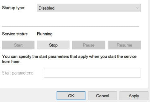Disable Adobe Software Integrity in Services-3