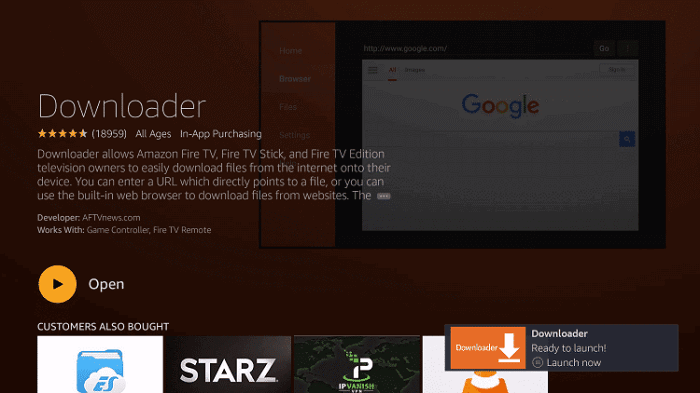 how to install spectrum tv on firestick using downloader app