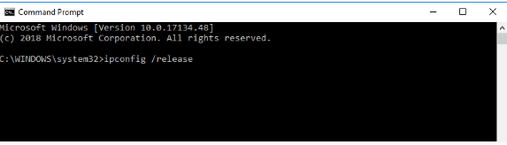 wifi doesnt have a valid ip configuration-Release And Renew IP Address