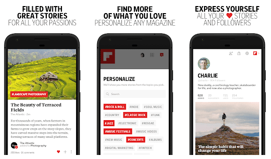 Best Tech News Apps For Android-Flipboard