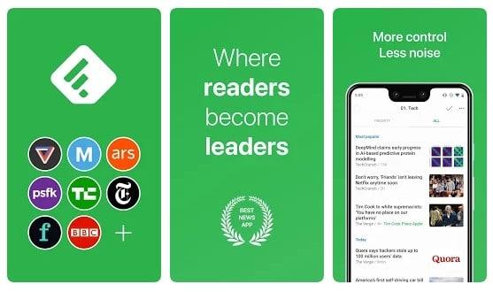 Feedly-Best Tech News App