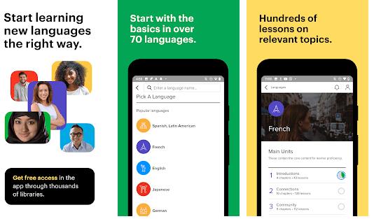 Mango Language Learning App