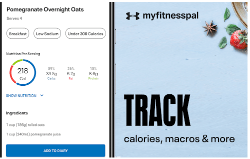 best weight loss apps-MyFitnessPal