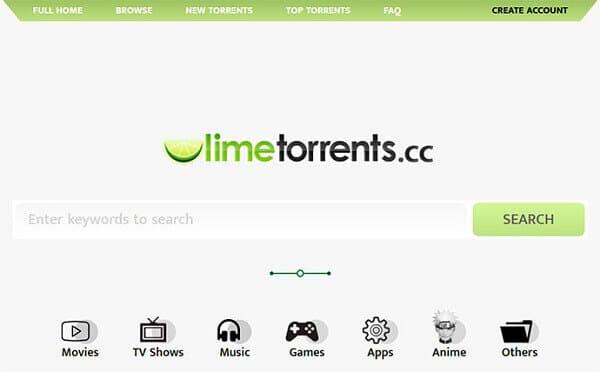 LimeTorrents-Torrentking alternative