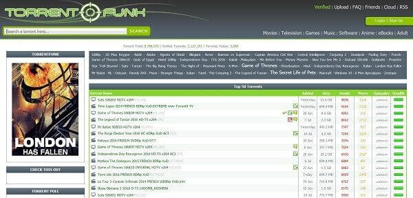 TorrentFunk-torrent site for music