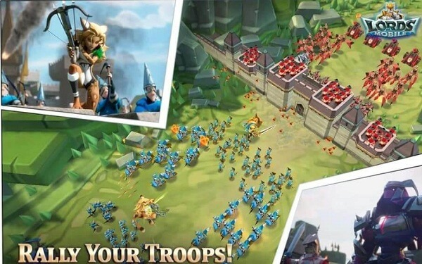 Lords Mobile-Games like Clash of Clans
