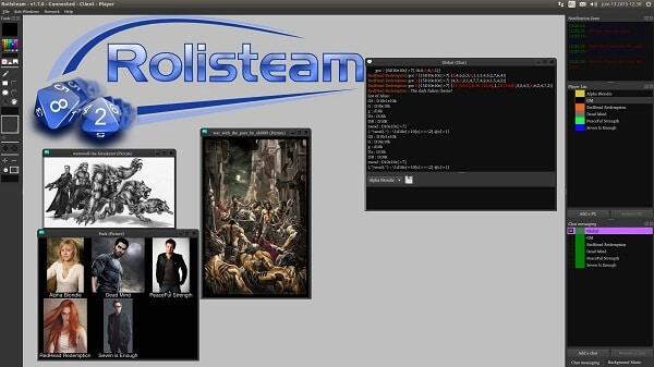 Rolisteam-sites like Roll20