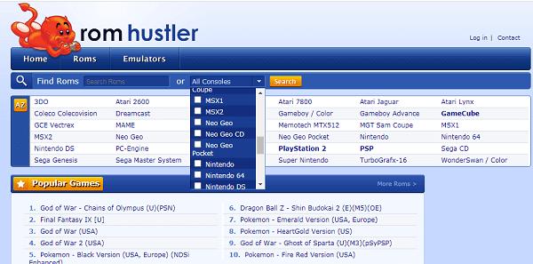 Rom Hustler-Best ROM sites