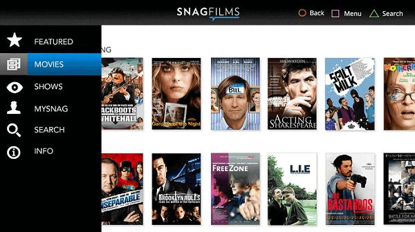 Snagfilms-sites like SolarMovie