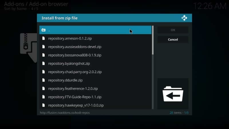 kodi-repos-english-options