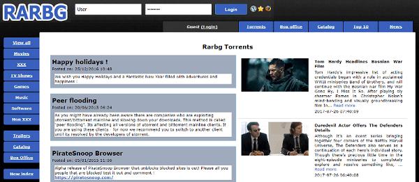 RARBG-Game Torrent SIte