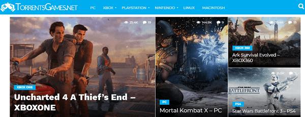 TorrentsGames- best game torrents sites