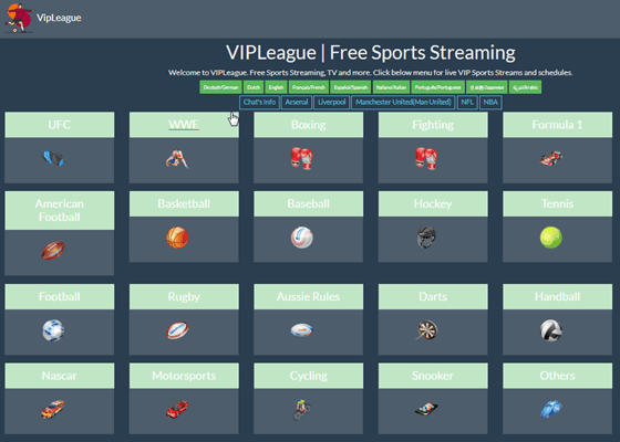 vipleague-Best Stream2watch Alternatives