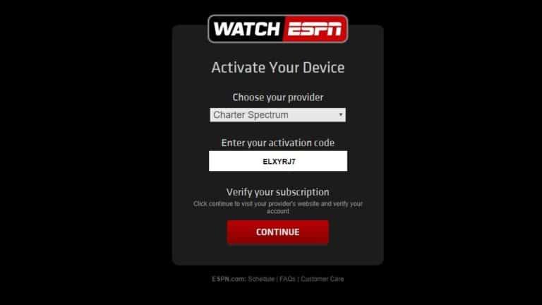 Authenticate ESPN 3-4