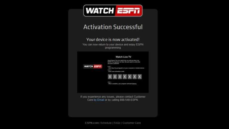 Authenticate ESPN 3-5