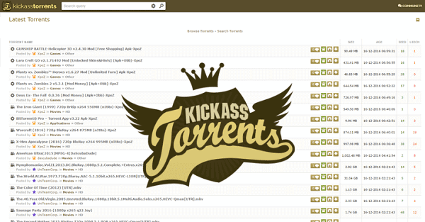 Kickass-torrents-Mejorenvo Alternative