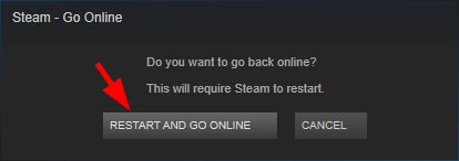 vac unable to verify game session-Restart Steam client-5
